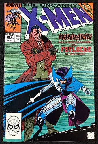 Uncanny X-Men (1963) #256 NM (9.4) 1st app Psylocke Jim Lee art