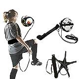 LVOERTUIG Football Kick Trainer Soccer Ball Practic, Adjustable Training Sports Assistance Football Trainer Practice Belt