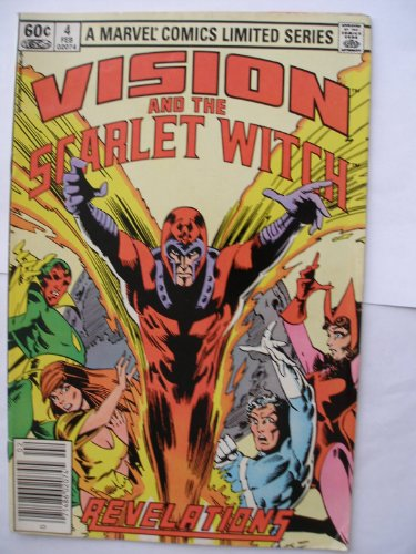 The Vision and the Scarlet Witch #4 February 1983