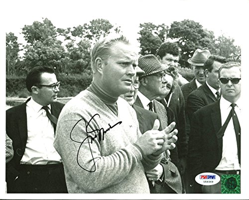 Jack Nicklaus Authentic Signed 8X10 Golf Photo Green Jacket Holo & PSA ()