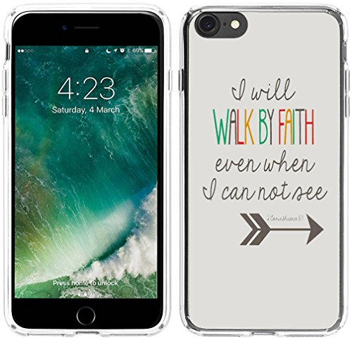 Price comparison product image Case for Iphone 6, Iphone 6S Case Bible Verses Christian Quotes 4.7 Inches 1 Corinthians 5:7