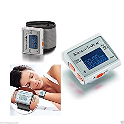 Silent Vibrating Personal Alarm Clock Shake N Wake Wrist Watch Digital LED Clock