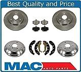 Mac Auto Parts 145473 Smart Car Smart Fortwo FRT & RR Brake Rotors Drums Brake Pads Shoes