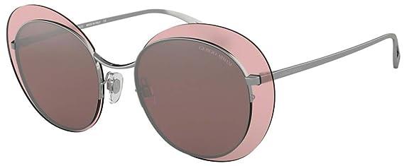 Armani Giorgio 0AR6079, Gafas de sol para Mujer, Gunmetal 52 ...
