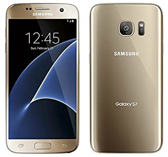 (CERTIFIED REFURBISHED) Samsung Galaxy S7 (Gold-Platinum, 32GB) Smartphones at amazon
