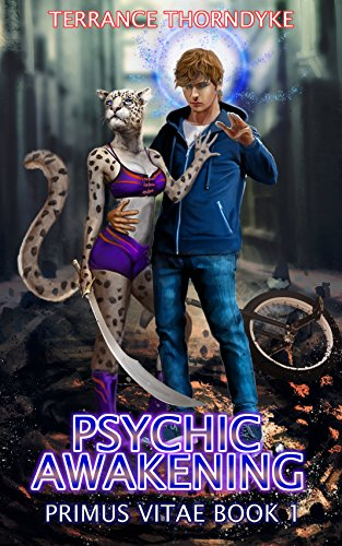 Psychic Awakening: A Dragon Shifter LitRPG Harem Psychic Thriller (Primus Vitae Book 1) cover