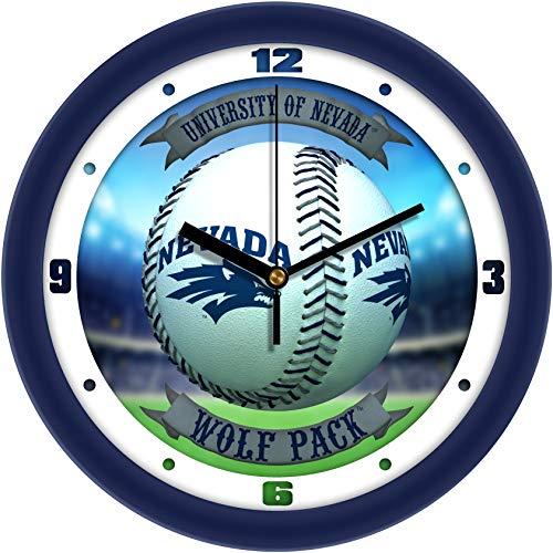 (Nevada Wolfpack - Home Run Wall Clock)