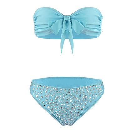pretty nice 75e6d 5638d TARTIERY Damen Bikini Set Mit Polyester Damen-Bikini Ohne ...