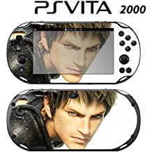 Decorative Video Game Skin Decal Cover Sticker for Sony PlayStation PS Vita Slim (PCH-2000) - FF Final Fantasy