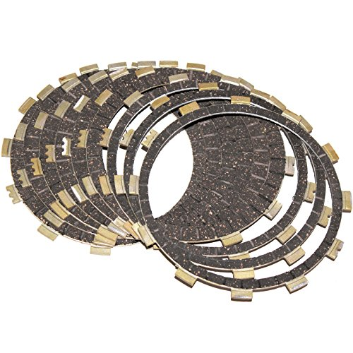 Caltric CLUTCH FRICTION PLATES Fits YAMAHA XV1700PC XV-1700PC Road Star 1700 Warrior 2002-2009 (2005 Yamaha Road Star)