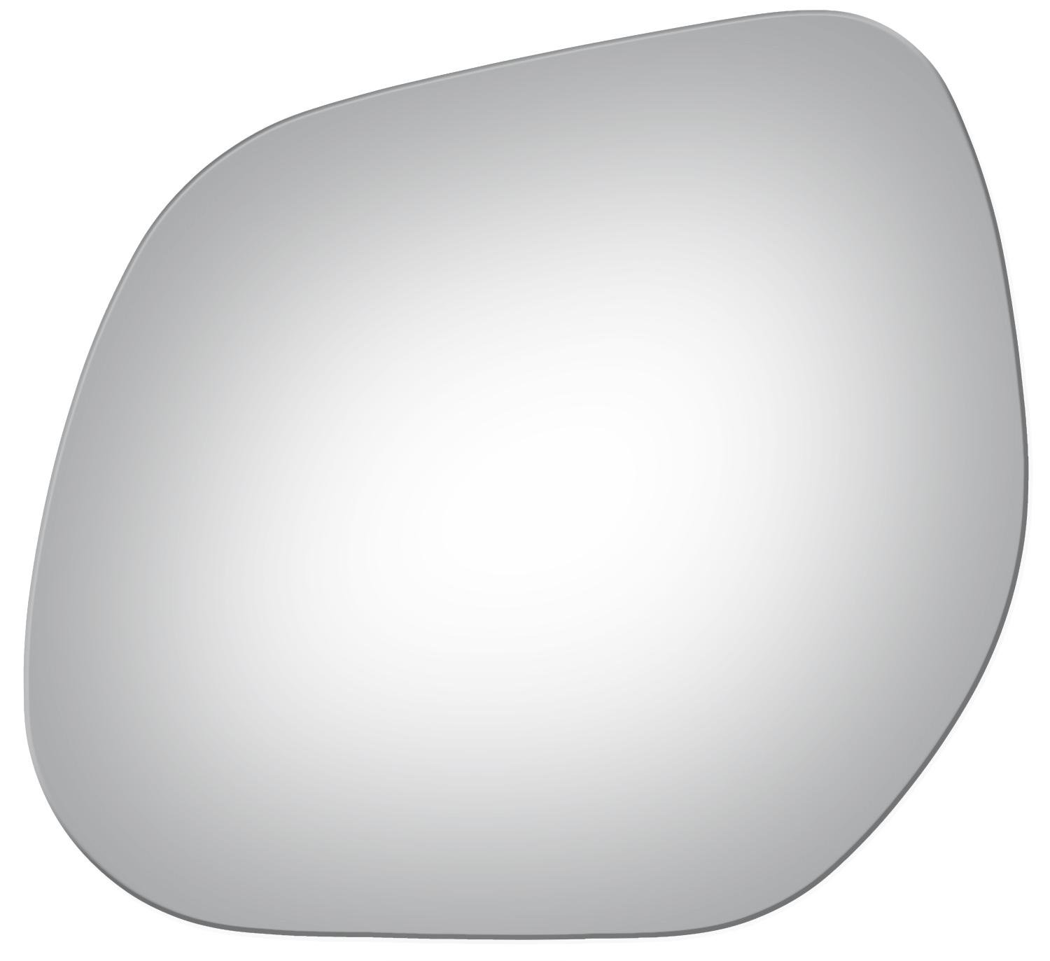 2007-2013 MITSUBISHI OUTLANDER Driver Side Replacement Mirror Glass Burco