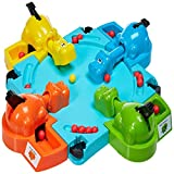 (US) DORIC Hungry Four Hippos Creative Desktop Toys Interactive Fun Board Game Baby Kids Child Toys Gifts