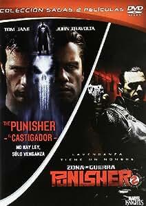 Pack The Punisher (El Castigador) + Punisher 2: Zona De Guerra [DVD]