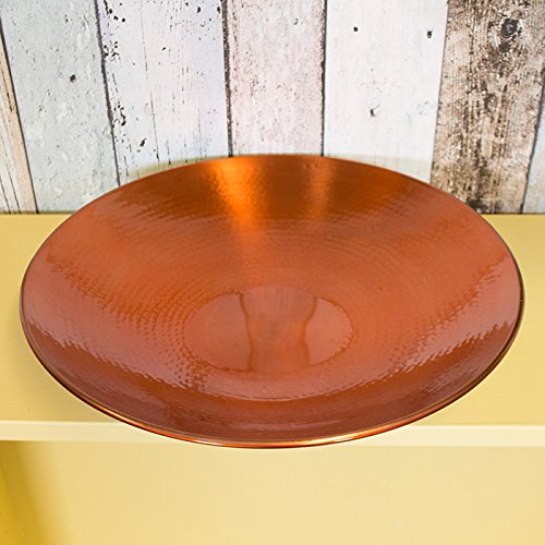 36cm Decorative Copper Finish Hammered Bowl ProdBuy Limited