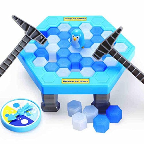 Tuersuer Warm and Beautiful Ice Breaking SaveThe Penguin,Penguin Table Game Fun for Party Family