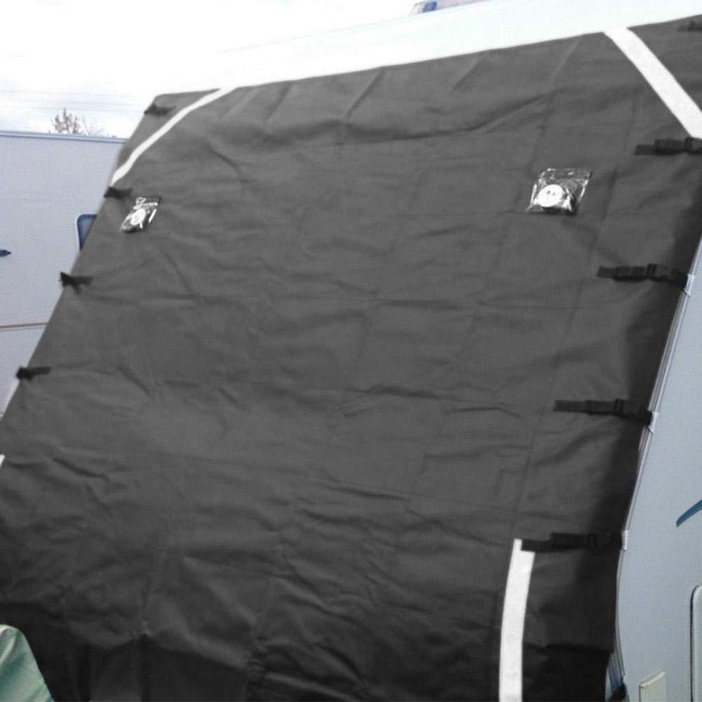 Staubdicht Arvin87Lyly Wohnmobil Abdeckung Wasserdicht Frontautoabdeckung Wohnwagen Schutzh/ülle Schutzhaube F/ür Campingmobile