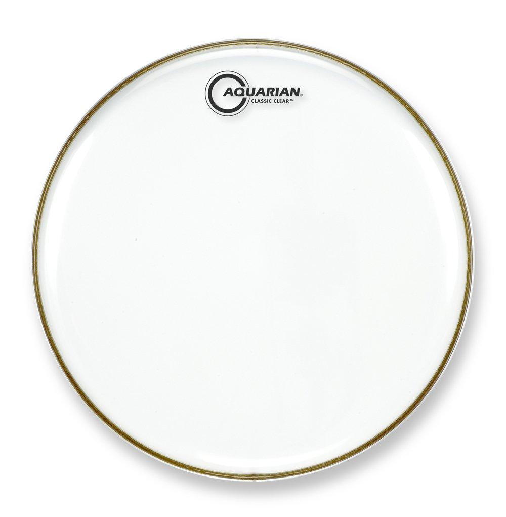 Aquarian Drumheads CC26 Classic Clear 26-inch Bass Drum Head