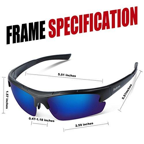1478d2d8a5c Duduma Polarized Designer Fashion Sports Sunglasses for Baseball Cycling  Fishing Golf Tr62 Superlight Frame