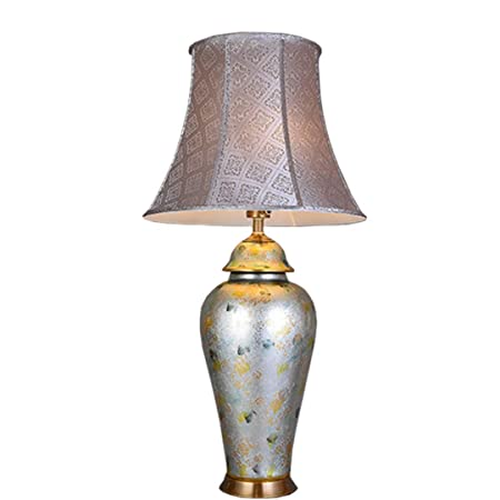 NIUZIMU G-ZM Lámpara de Mesa lámpara de Mesa de cerámica ...