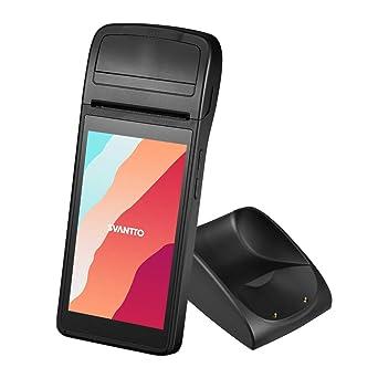 Svantto PDA Android 6.0 con Impresora de Recibos Térmica y Base de ...