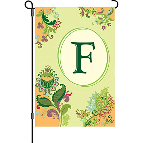 [Premier 51366 Spring Monogram Flag, Letter F, 12-Inch] (Costumes F)