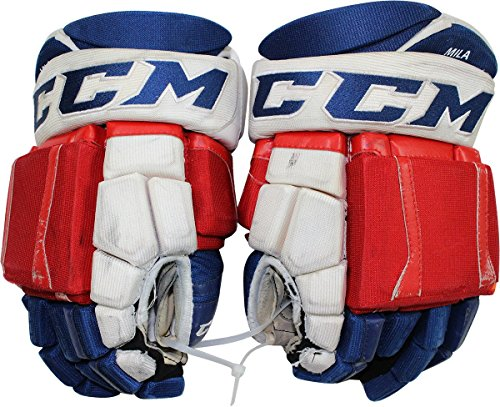 Keith Yandle New York Rangers 2015-2016 Season Game Used CCM Gloves (Pair)