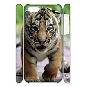 MMZ DIY PHONE CASETiger 3D-Printed ZLB578827 Personalized 3D Phone Case for ipod touch 5