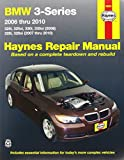 BMW 3-Series 2006 thru 2010: 325i, 325xi, 330i, 330xi (2006), 328i, 328xi (2007 thru 2010) (Haynes Repair Manual)