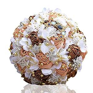 Gym Compression&Tights Artificial Flower Wedding Handheld Rose Ribbon Bionic Flower Bride Rose Handheld Flower Family Decoration