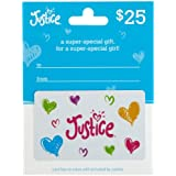 Justice Gift Card $25