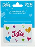 hot topic gift card - Justice Gift Card $25