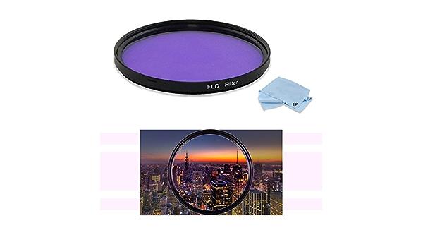 FLD Fluorescent Natural Light Color Correction Filter for Canon EF 100mm f//2.8 Macro USM Lens