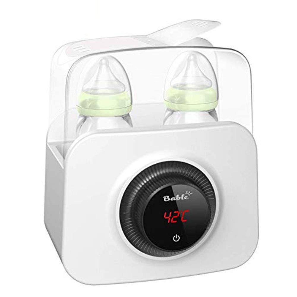 Acquisto WYXR Riscaldatore Intelligente per Biberon, 2 in 1 Sterilizzatore per Latte, Macchina Automatica per L'isolamento del Latte Materno E Alimenti per L'infanzia Prezzi offerte
