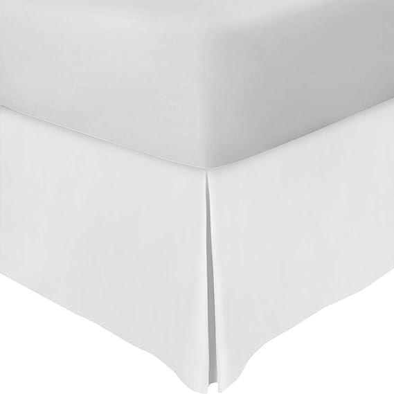 Utopia Bedding Full Bed Skirt (White) by Utopia Bedding