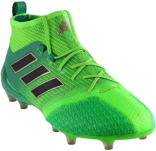 Adidas ACE 17.1 Primeknit FG Soccer Cleats (BlackWhiteBlue)