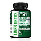 CoreFX Labs Complete Liver Detox Supplement | Liver Detoxifier & Regenerator | Digestion Enzyme Supplement with Milk Thistle, Dandelion and Chicory Root Review