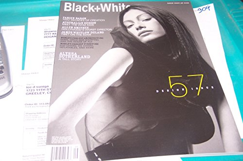 - NOT ONLY BLACK + WHITE  Number 57, November 2001