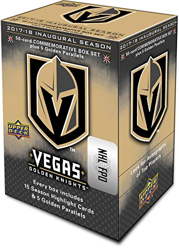 2018 Upper Deck Vegas Golden Knights Inaugural Season Commemorative 55-Card Set - Hockey Team Sets