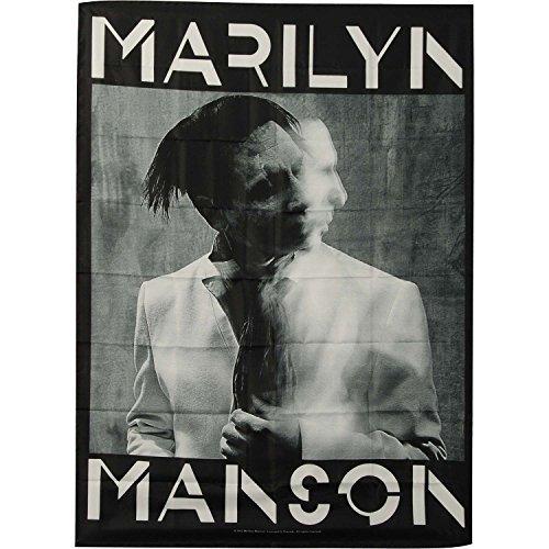 - Marilyn Manson - Poster Flag