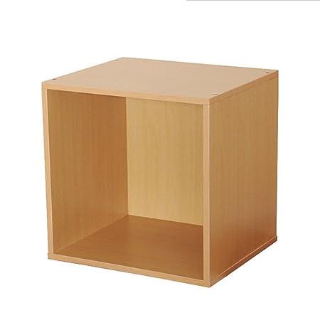 Blueidea Cube Box Red Beech Storage Box Wooden Locker