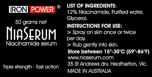 NiaSerum 12% Topical Niacinamide Serum - Best Anti Aging Skin Serum & Anti Wrinkle Face Repair Serum - Vitamin B3 Moisturizer