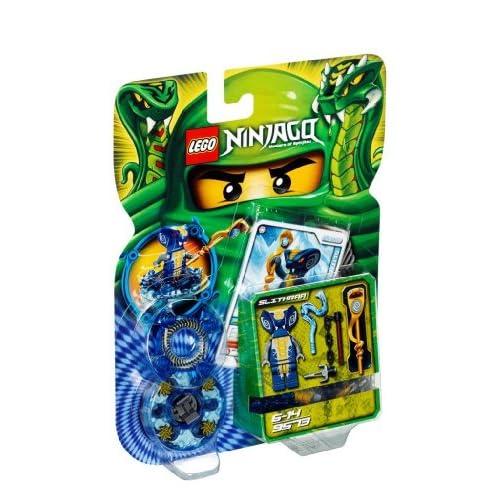 Lego Ninjago Toupies - 9573 - Jeu de Construction - Slithraa
