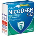 NicoDerm CQ Step 1 21mg, 21 Clear Patches