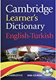Cambridge Learner's Dictionary English-Turkish with CD-ROM. (Dictionary Book & CD Rom)