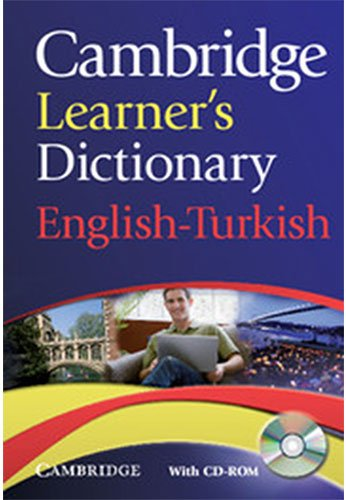Cambridge Learner's Dictionary English Turkish With CD ROM  Dictionary Book And CD Rom
