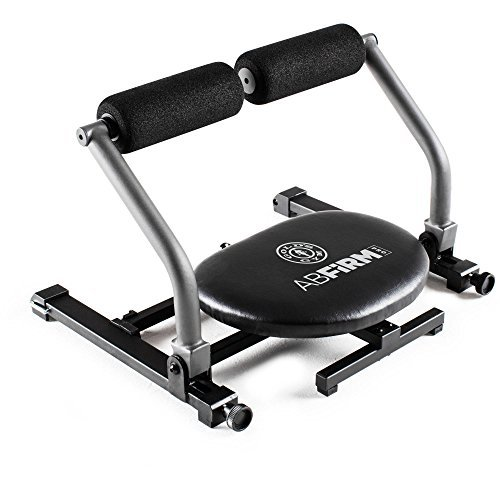 Golds Gym Abdominal Strength Toner Fitness Home and Exercise Equipment Training with Adjustable Swiveling Seat by Golds Gym
