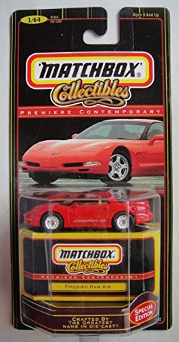 MATCHBOX PREMIERE CONTEMPORARY RED FIREBIRD RAM AIR SPECIAL EDITION 1/64 SCALE DIE CAST ()