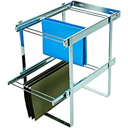 Rev-A-Shelf Two-Tier File Drawer Organizers, Chrome