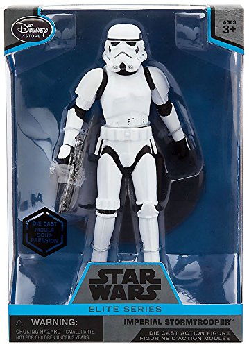 Star Wars Imperial Stormtrooper Elite Series Die Cast Action Figure - 6 1/2 Inch - Rogue One: A Star Wars Story