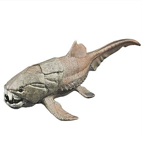Oncpcare Dunkleosteus Decoración para Acuario, Figura de Peces de la Criatura del Devonion, Adorno